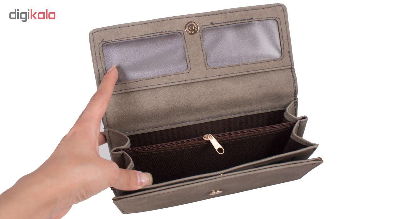 کیف پول زنانه دیوید جدنیس مدل PJ744