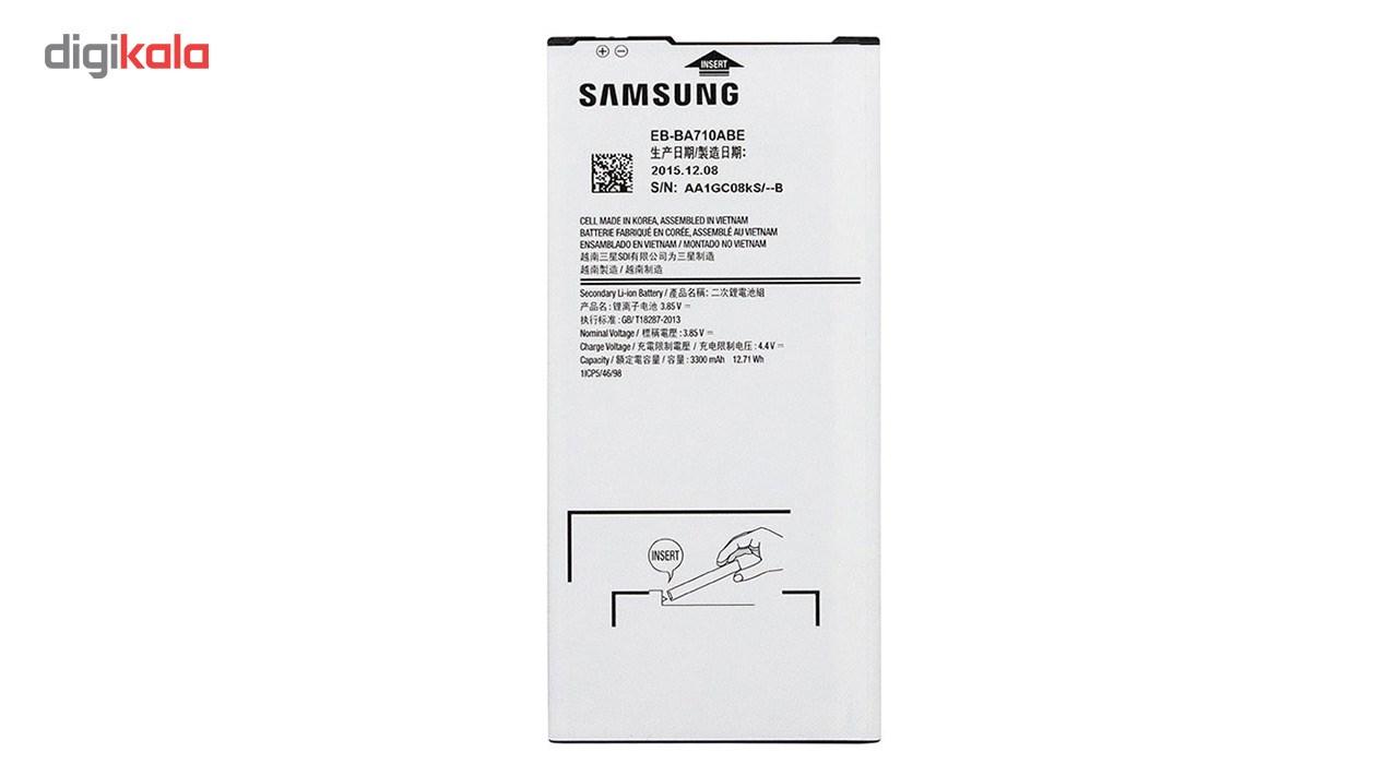باتری موبایل  مدل EB-BA710ABE  با ظرفیت 3300 mAh مناسب برای گوشی موبایل (A7 (2016 main 1 1