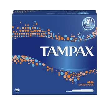 تامپون تامپکس مدل Super Plus بسته 20 عددی