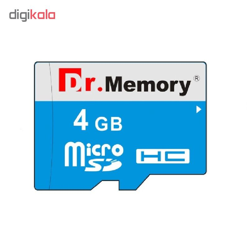 کارت حافظه microSDHC دکتر مموری مدل DR6022BVB کلاس 10 استاندارد UHS-I U1 سرعت 80MBps ظرفیت 4 گیگابایت به همراه آداپتور  SD