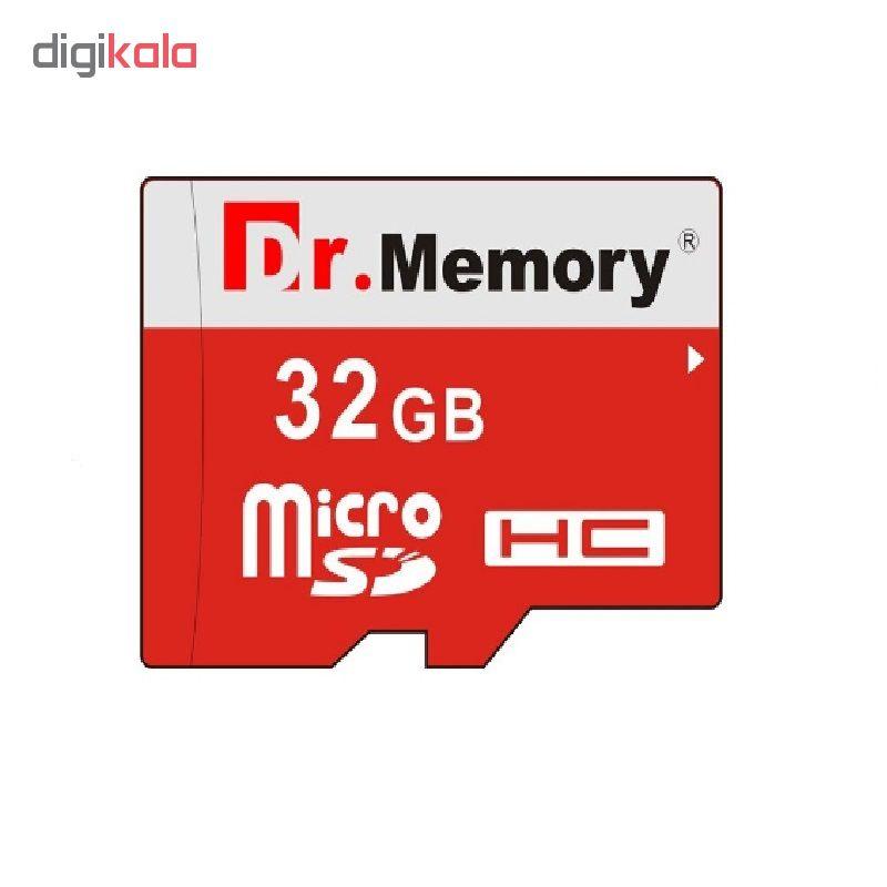 کارت حافظه microSDHC دکتر مموری مدل DR6022RVB کلاس 10 استاندارد UHS-I U1 سرعت 80MBps ظرفیت 32 گیگابایت به همراه آداپتور microSD main 1 1