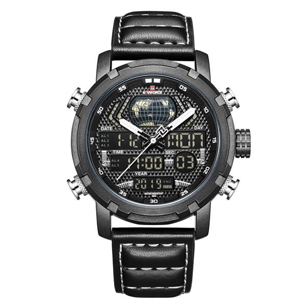 ساعت مچی عقربه ای مردانه نیوی فورس کد NF9160 BL-wh