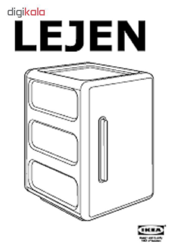 قفسه حمام ایکیا مدل Lejen main 1 4