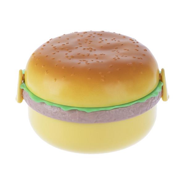 ظرف غذا کودک بارک طرح همبرگر کد 3386