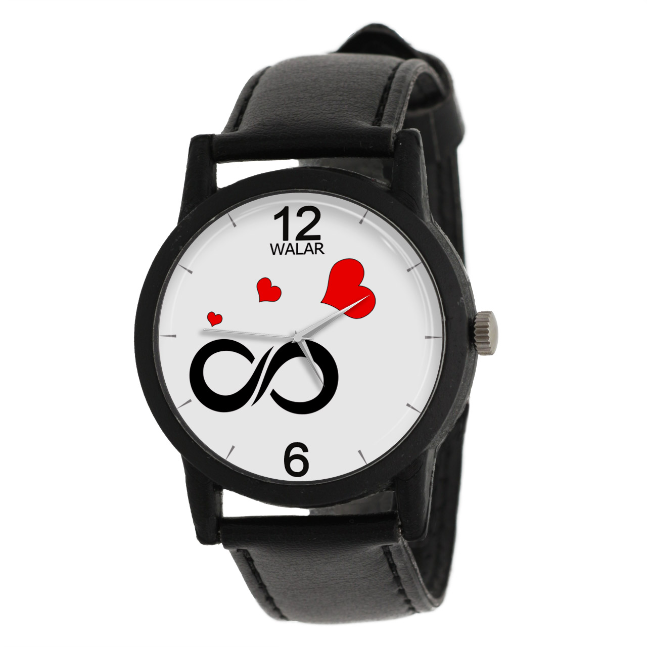 ساعت مچی عقربه ای زنانه والار طرح بینهایت مدل LF1343