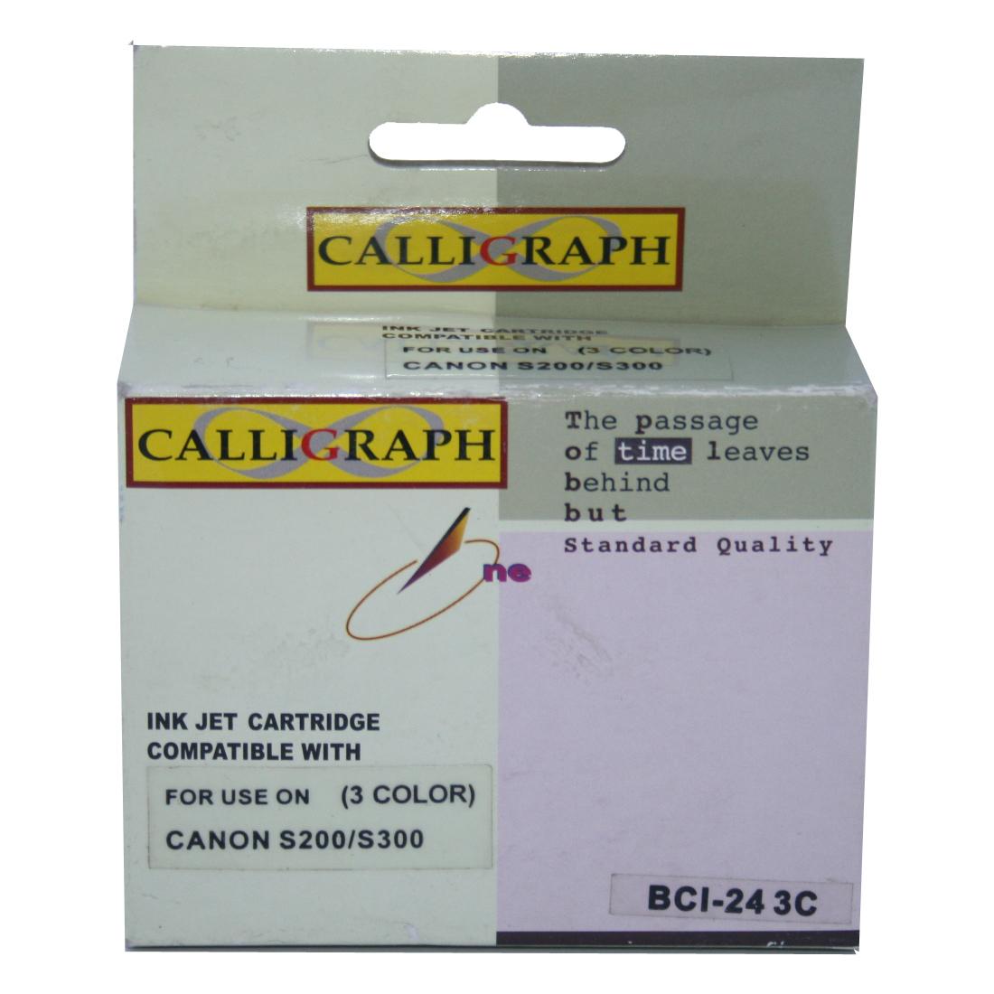 قیمت                      کارتریج رنگی کالیگراف مدل BCI-24 3C