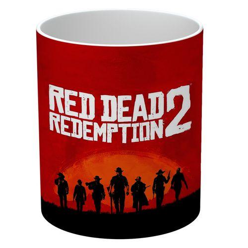 ماگ طرح Red Dead Redemption مدل NI294