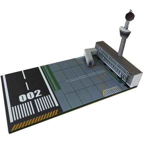 ساختنی طرح قسمتی از فرودگاه
