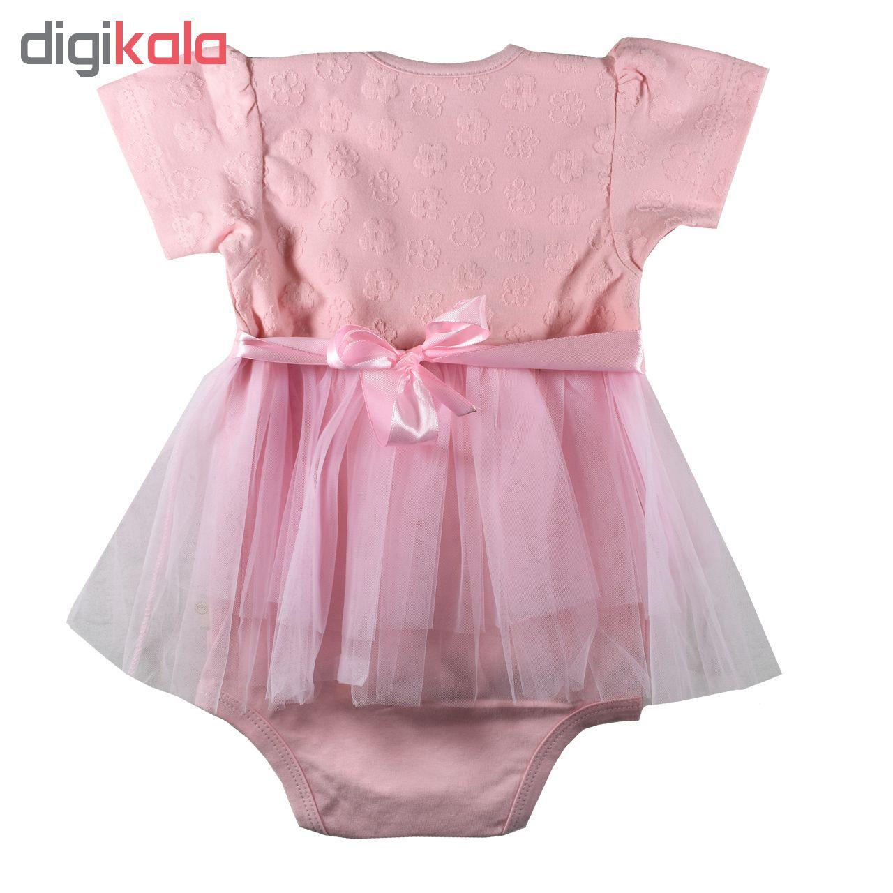 بادی نوزادی دخترانه نیروان مدل Q6 -  - 2
