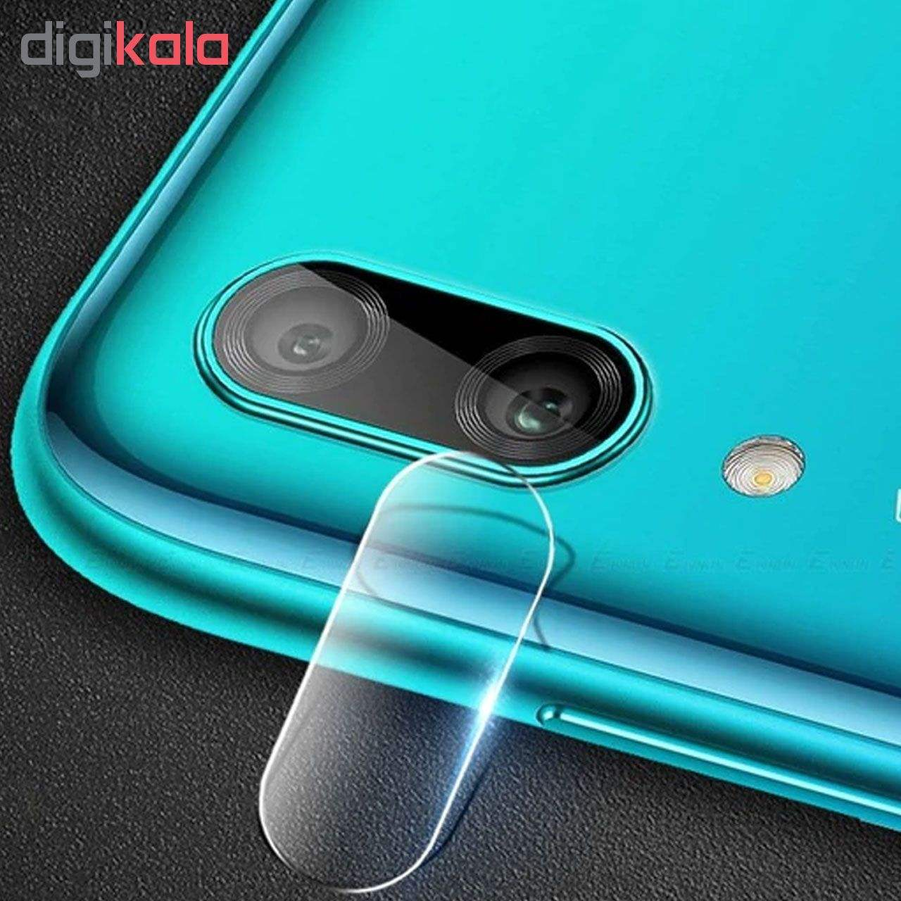 محافظ لنز دوربین هورس مدل UTF مناسب برای گوشی موبایل هوآوی Y9 2019 main 1 3