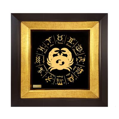 Photo of تابلو طلا کوب مارک گلد طرح ماه تولد تیر