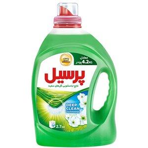 مایع لباسشویی پرسیل Deep Clean با رایحه گل های سفید مقدار 2.7 کیلوگرم
