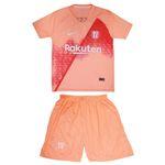 ست پیراهن و شورت ورزشی پسرانه طرح بارسلونا مدل Barca2-9