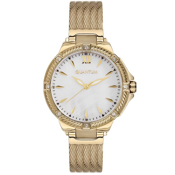 ساعت مچی عقربه ای زنانه کوانتوم مدل IML805.130