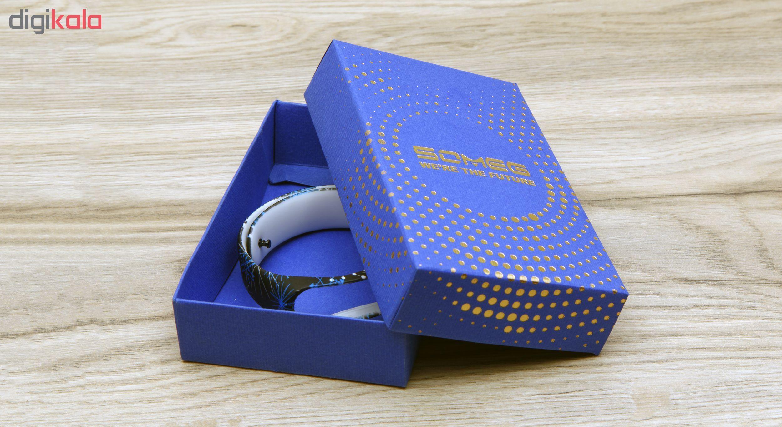 بند مچ بند هوشمند سومگ مدل  SMG-11 مناسب برای مچ بند هوشمند شیائومی Mi Band 3 و M3 main 1 7