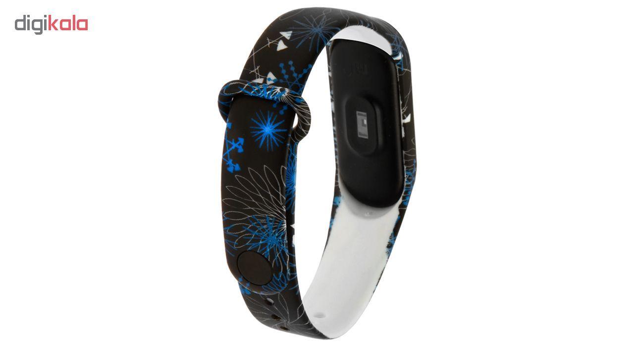 بند مچ بند هوشمند سومگ مدل  SMG-11 مناسب برای مچ بند هوشمند شیائومی Mi Band 3 و M3 main 1 2