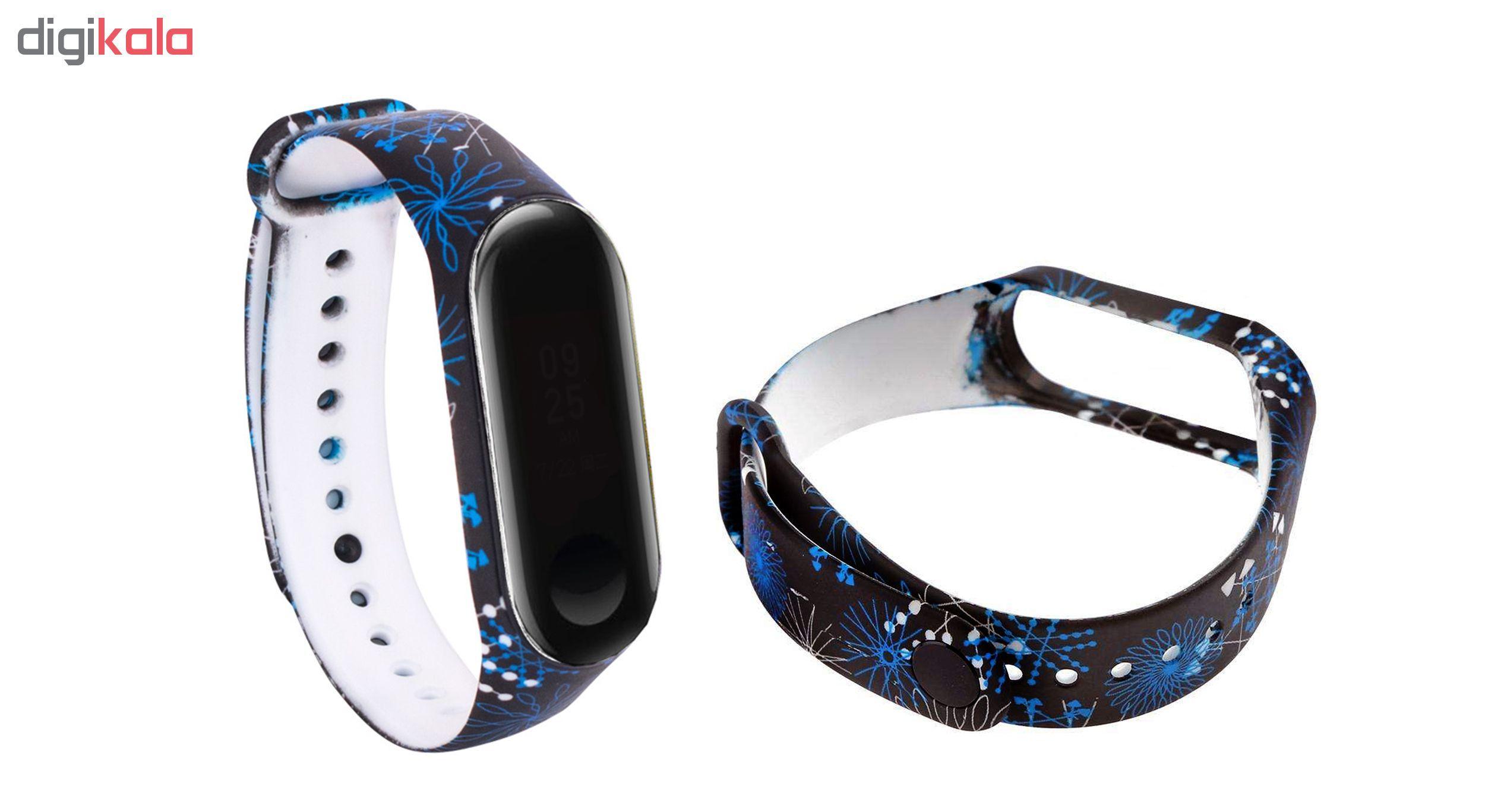 بند مچ بند هوشمند سومگ مدل  SMG-11 مناسب برای مچ بند هوشمند شیائومی Mi Band 3 و M3 main 1 1