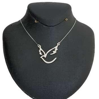 گردنبند زنانه  مدل پرنده کد B040