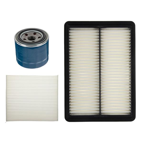 فیلتر هوا خودرو هیوندای جنیون پارتز مدل 28113C1100 مناسب برای سوناتا ال اف به همراه فیلتر کابین و فیلتر روغن