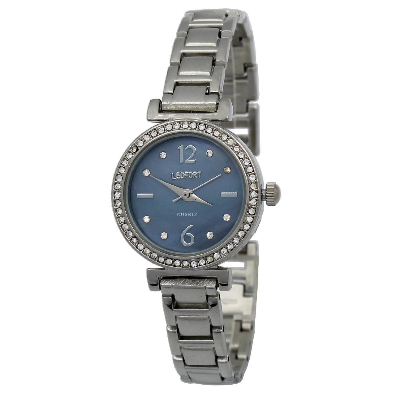 ساعت مچی عقربه ای زنانه لدفورت مدل DGZU-0187