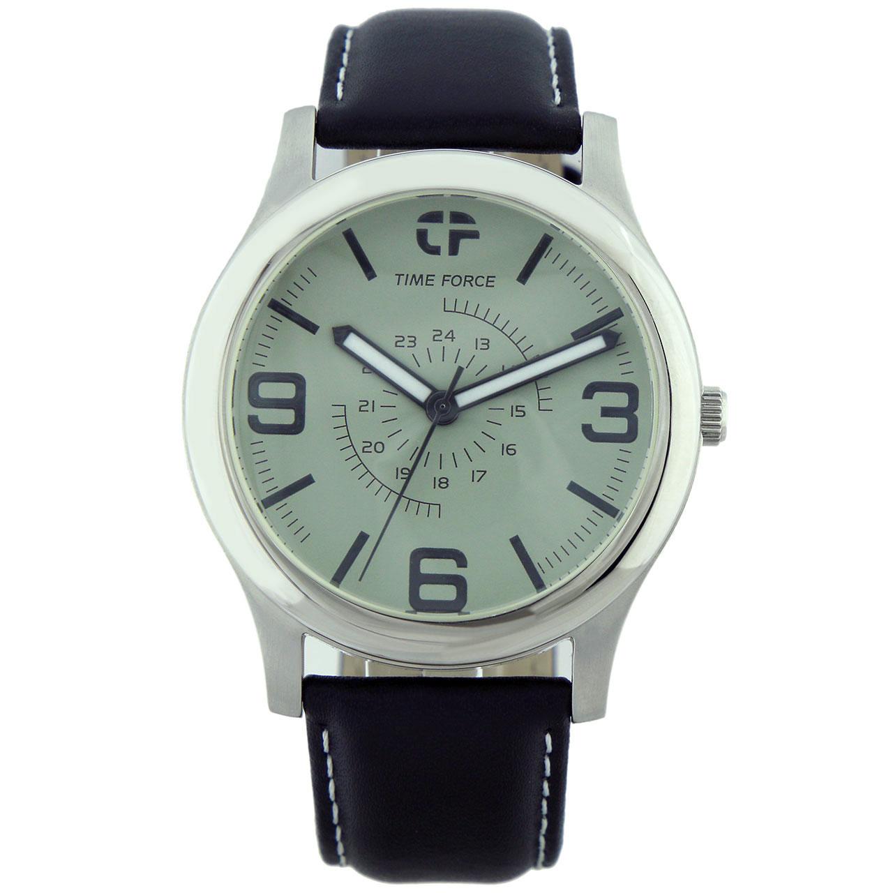 ساعت مچی عقربه ای مردانه تایم فورس مدل TF4062M07
