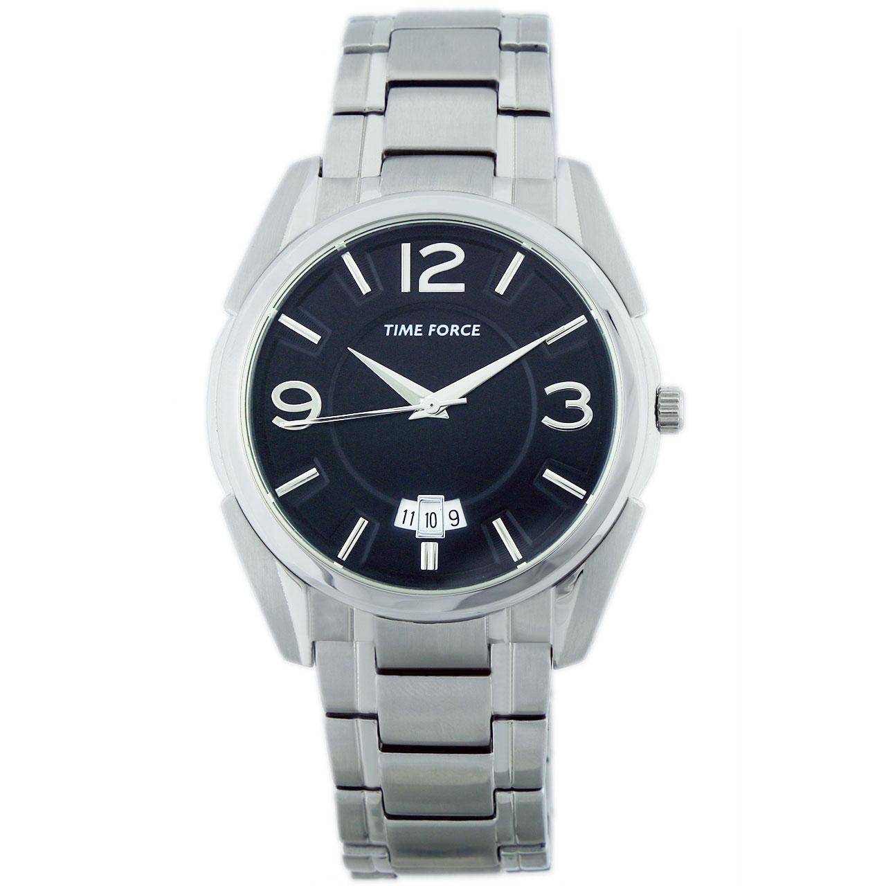 ساعت مچی عقربه ای مردانه تایم فورس مدل  TF4074M01M