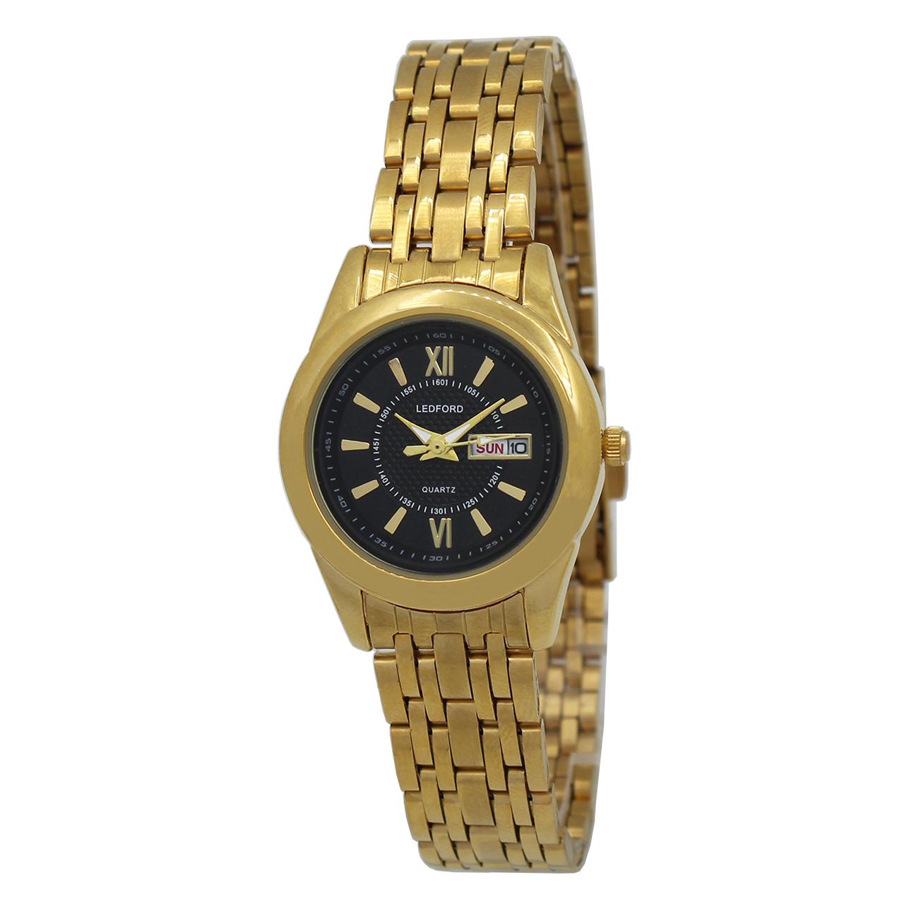 ساعت مچی عقربه ای زنانه لدفورد مدل DGZU-0188