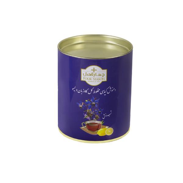 دمنوش گل گاو زبان و لیمو چهارفصل مقدار 40 گرم