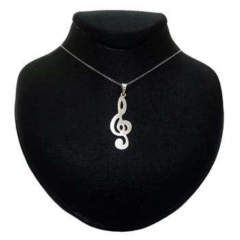 گردنبند زنانه مدل نت موسیقی کد B052