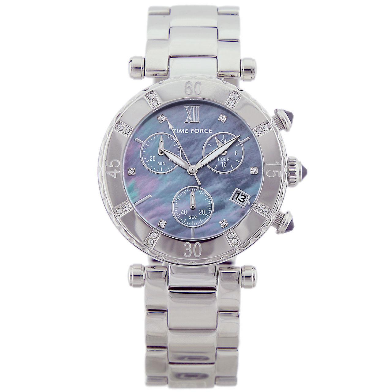 ساعت مچی عقربه ای زنانه تایم فورس مدل TF4100L01M