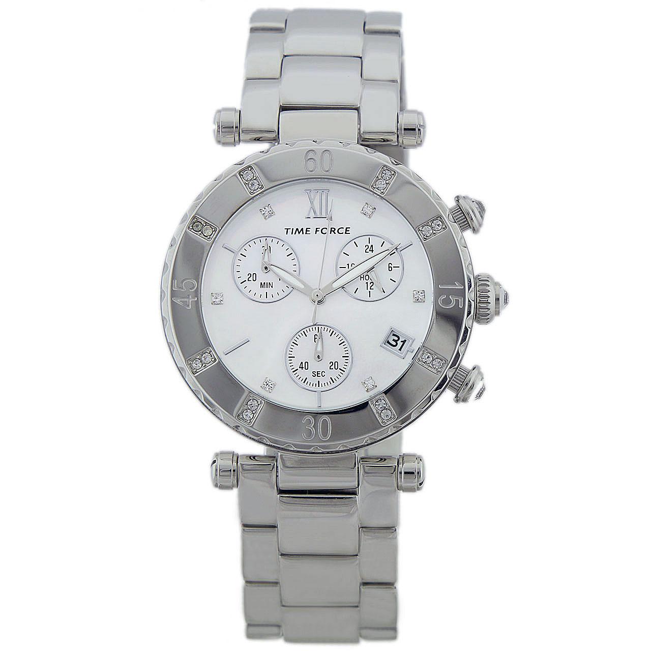 ساعت زنانه برند تایم فورس مدل TF4100L02M