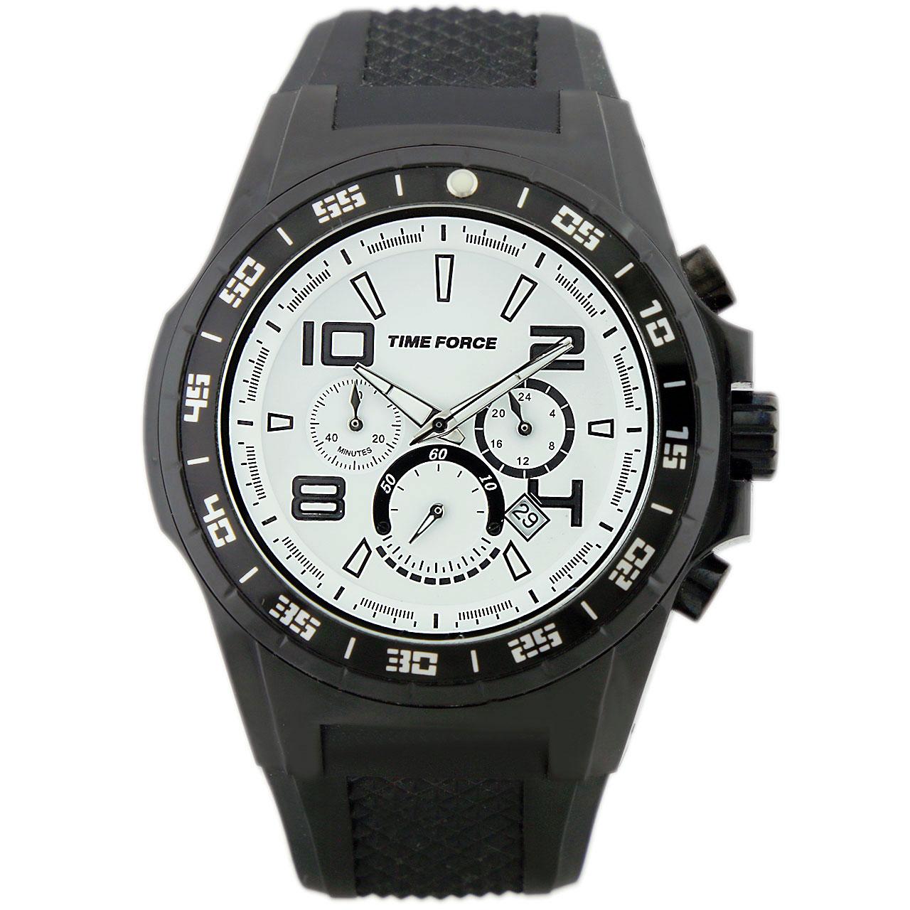 ساعت مچی عقربه ای مردانه تایم فورس مدل TF4101M02