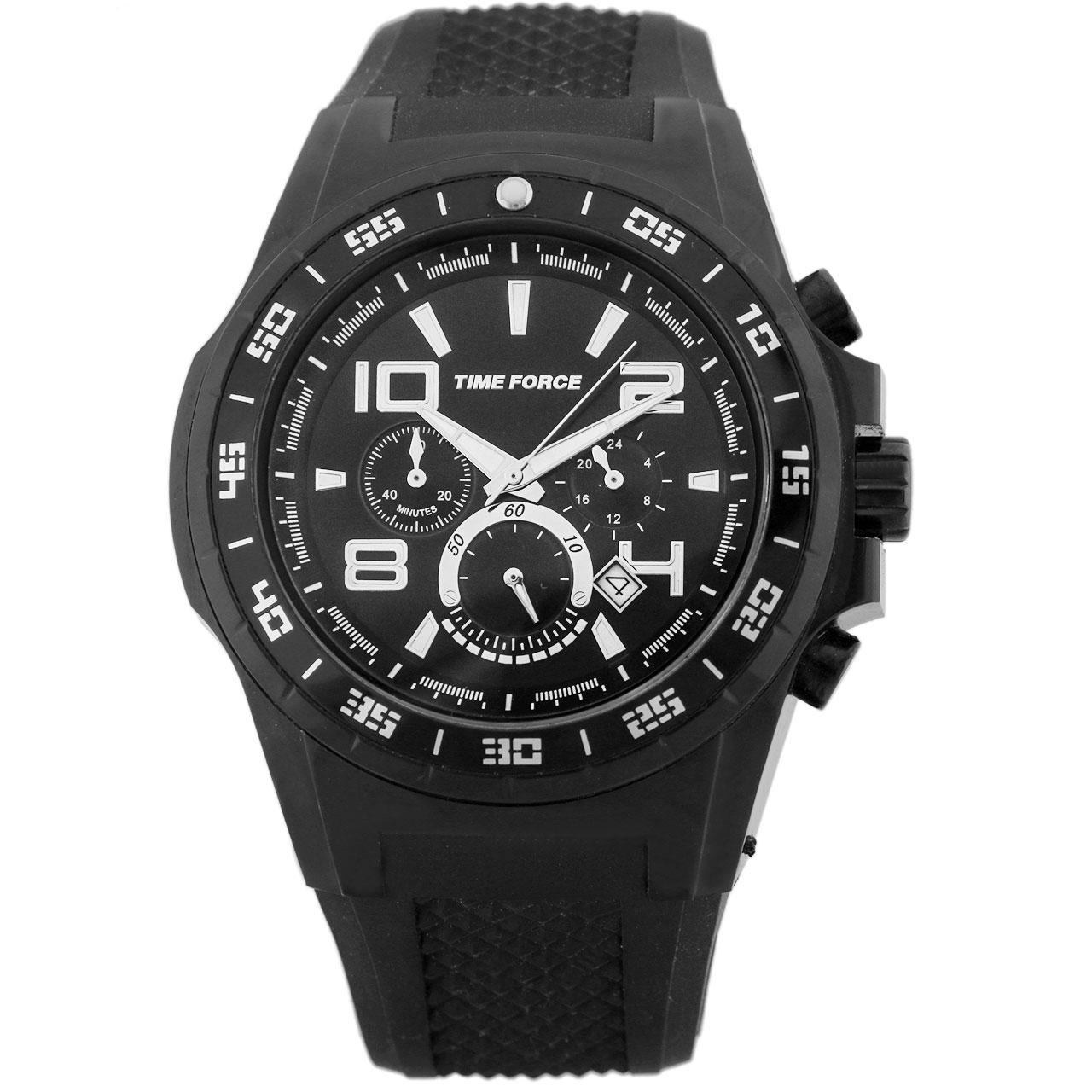 ساعت مچی عقربه ای مردانه تایم فورس مدل TF4101M11