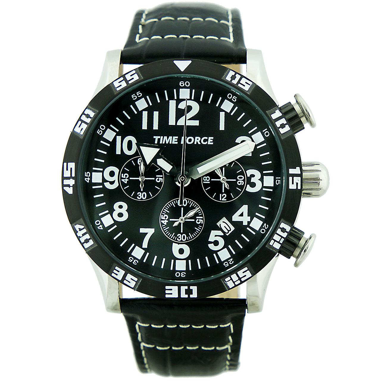 ساعت مچی عقربه ای مردانه تایم فورس مدل TF4102M01