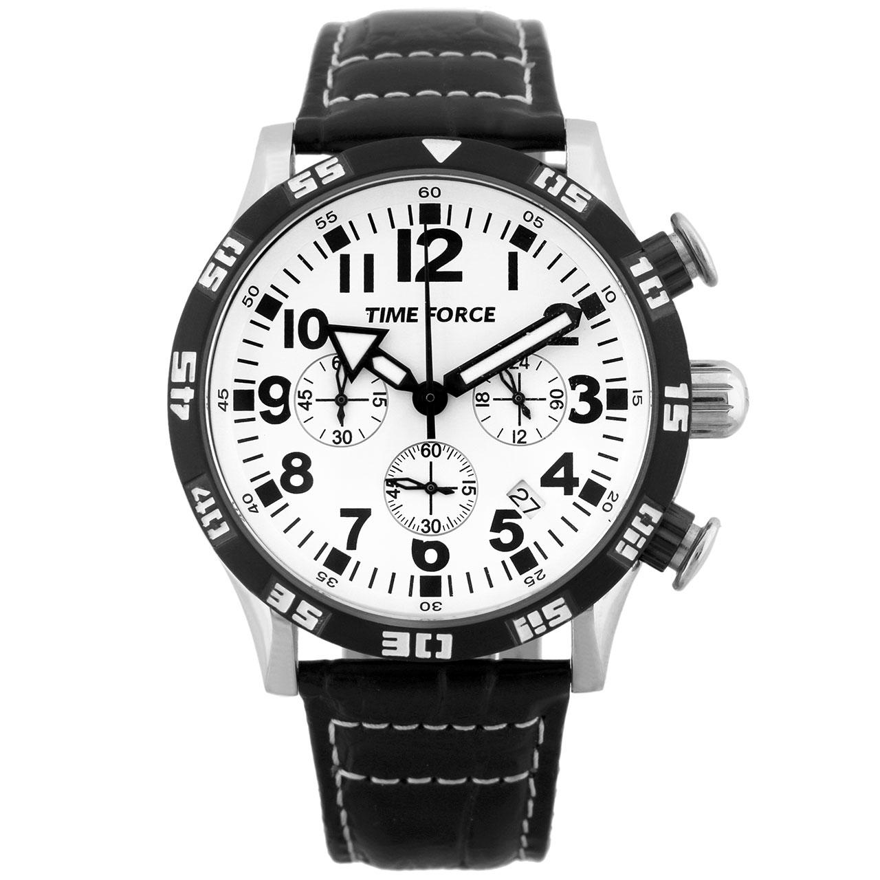 ساعت مچی عقربه ای مردانه تایم فورس مدل TF4102M02