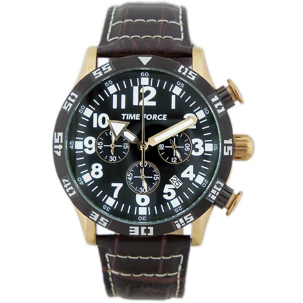 ساعت مچی عقربه ای مردانه تایم فورس مدل TF4102M11