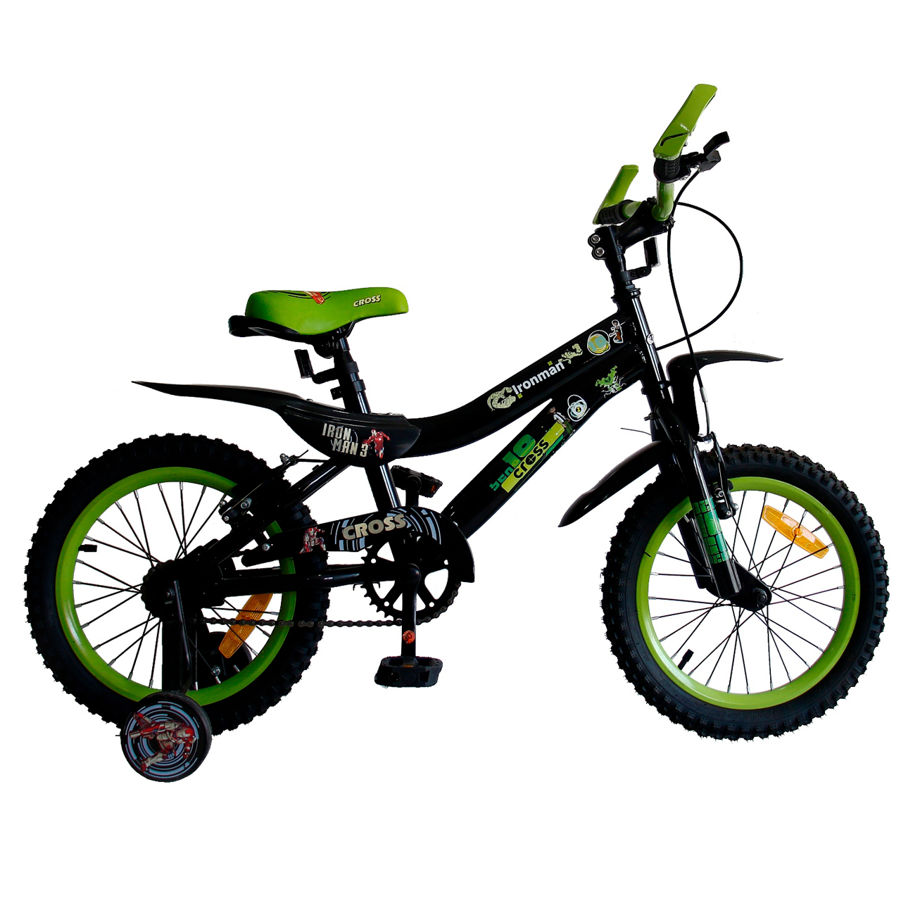 خرید                     دوچرخه شهری کراس مدل IRONMAN سایز 16