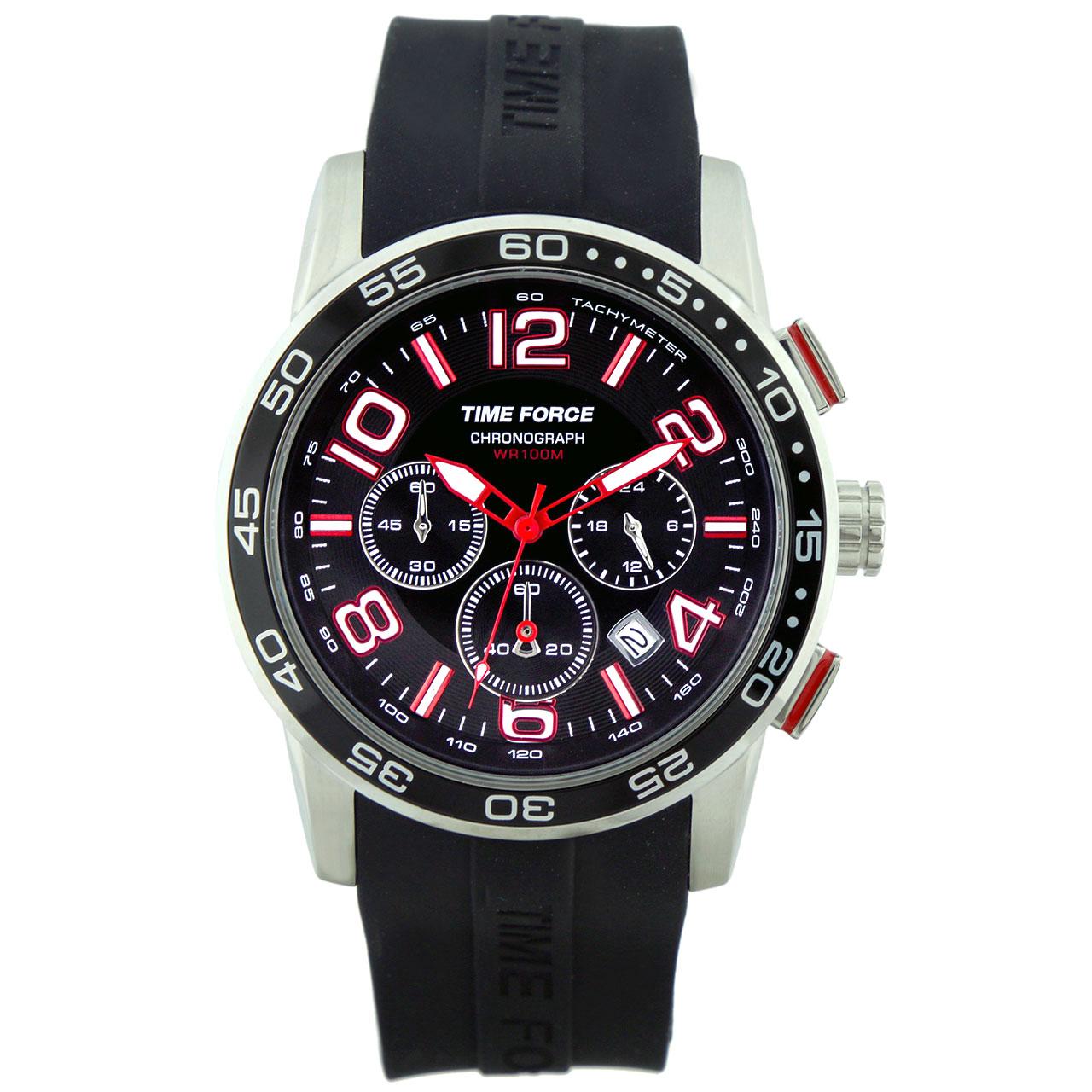 ساعت مچی عقربه ای مردانه تایم فورس مدل TF4108M01
