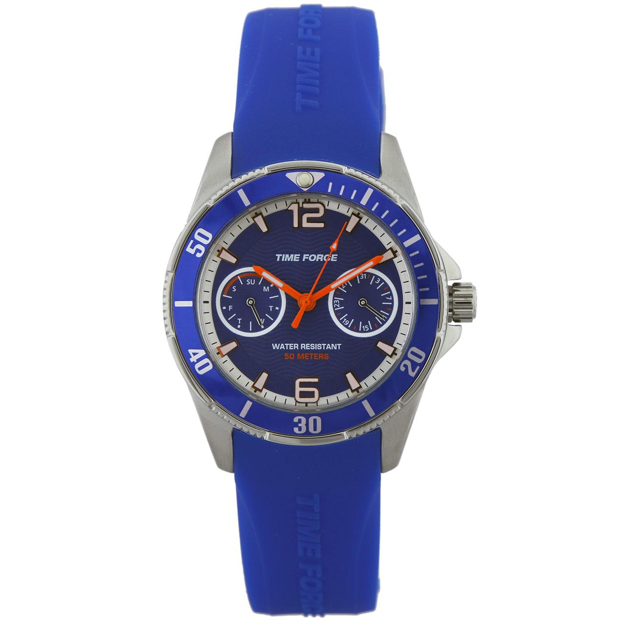 ساعت مچی عقربه ای زنانه تایم فورس مدل TF4110B03
