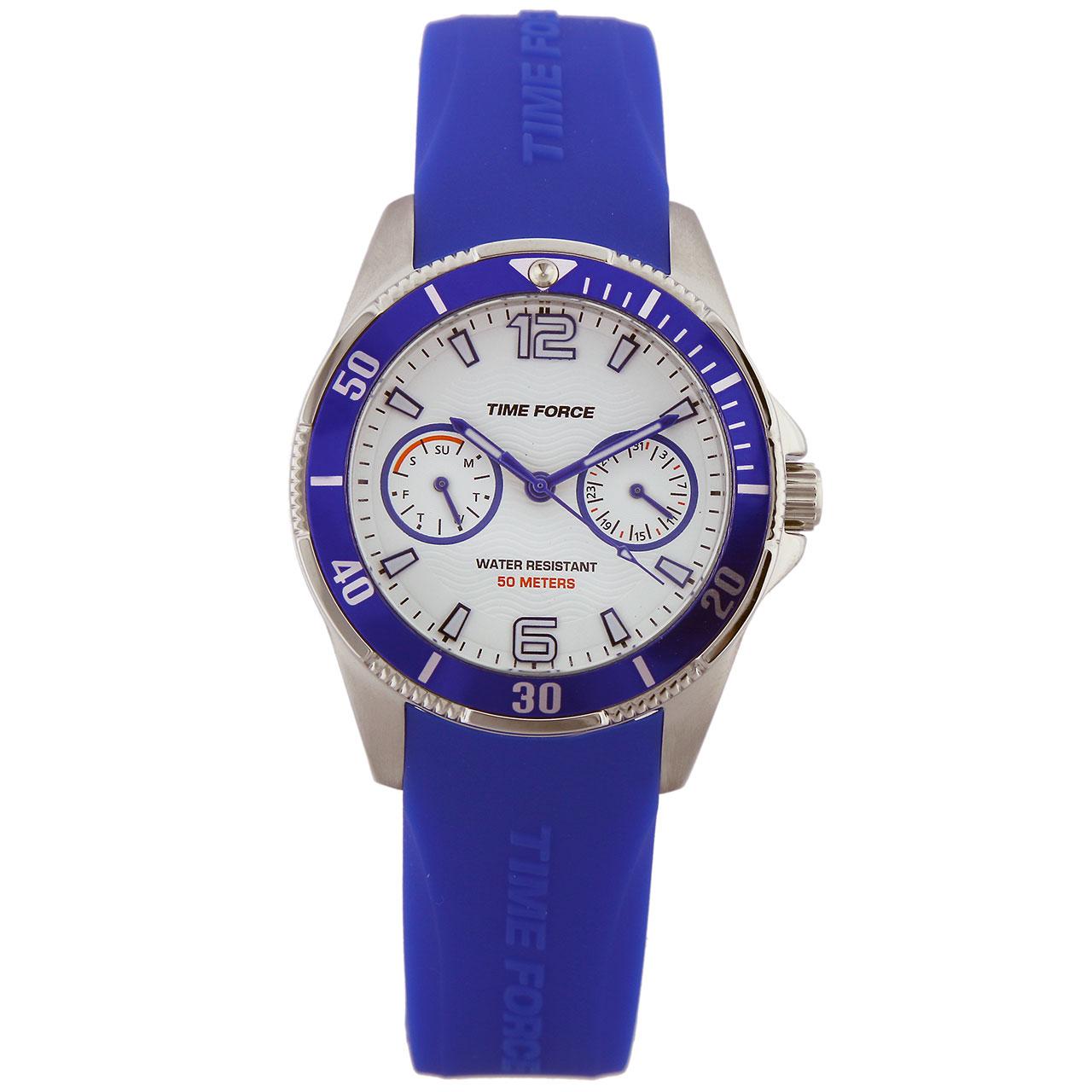 ساعت مچی عقربه ای زنانه تایم فورس مدل TF4110B13