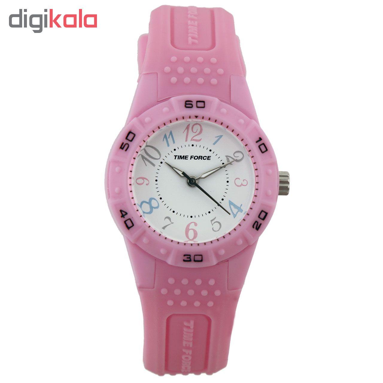 ساعت زنانه برند تایم فورس مدل TF4130B10