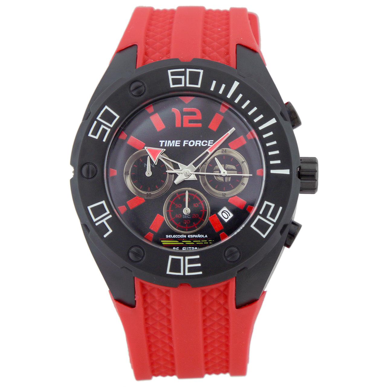 ساعت مچی عقربه ای مردانه تایم فورس مدل TF4145M14
