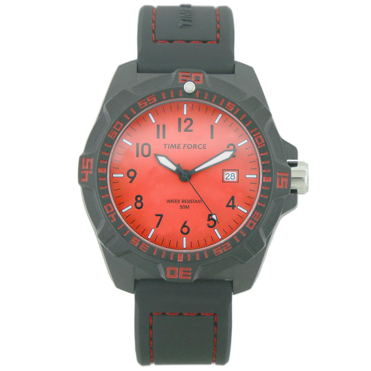 ساعت مچی عقربه ای مردانه تایم فورس مدل TF4149M04