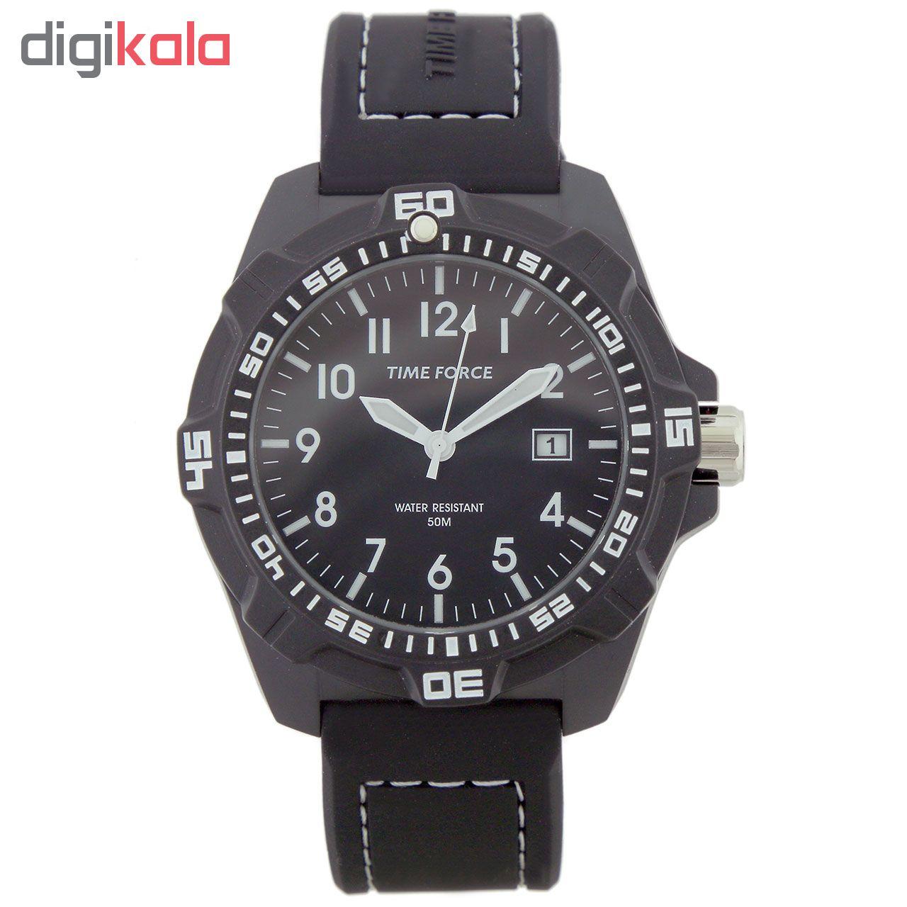 ساعت مچی عقربه ای مردانه تایم فورس مدل TF4149M11
