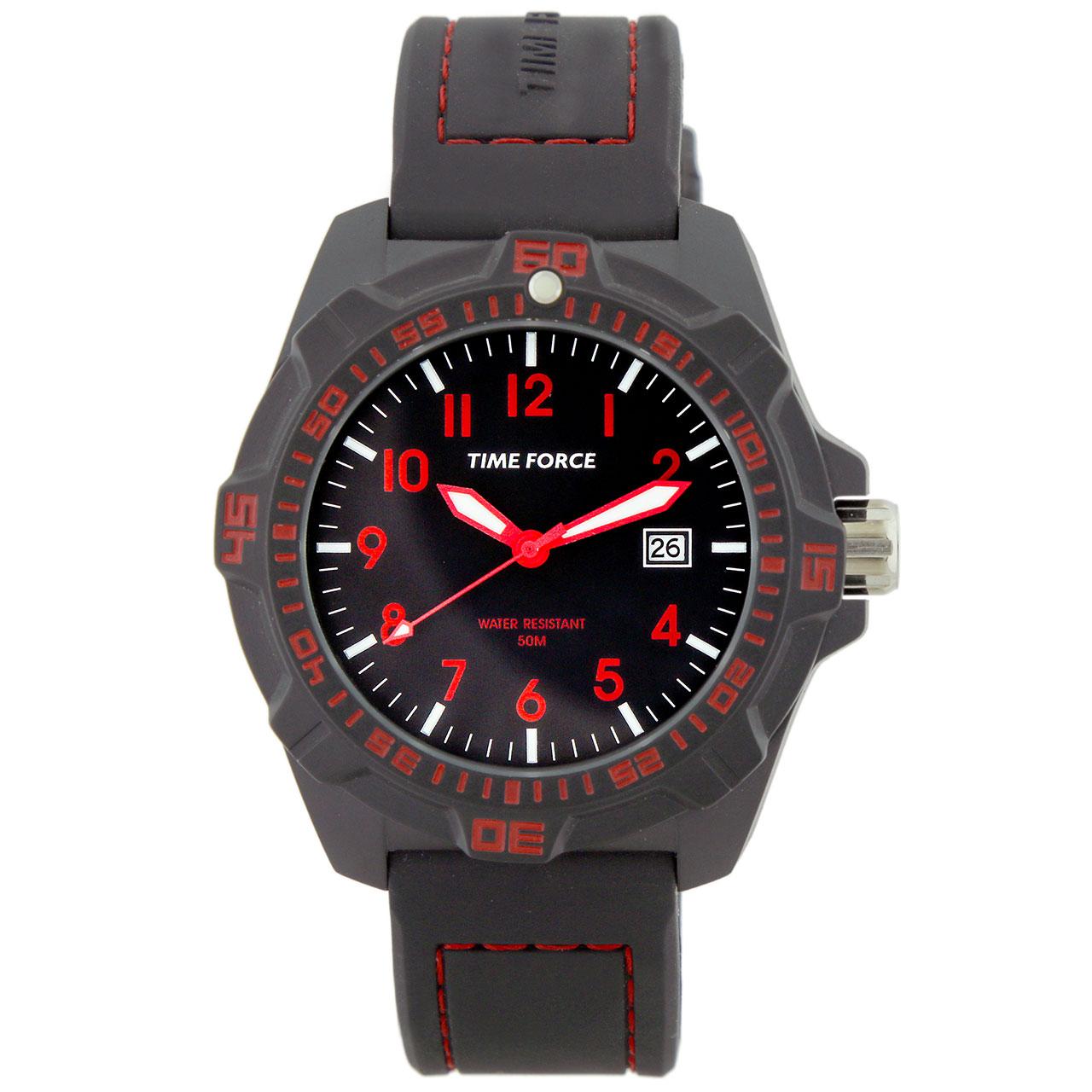 ساعت مچی عقربه ای مردانه تایم فورس مدل TF4149M14