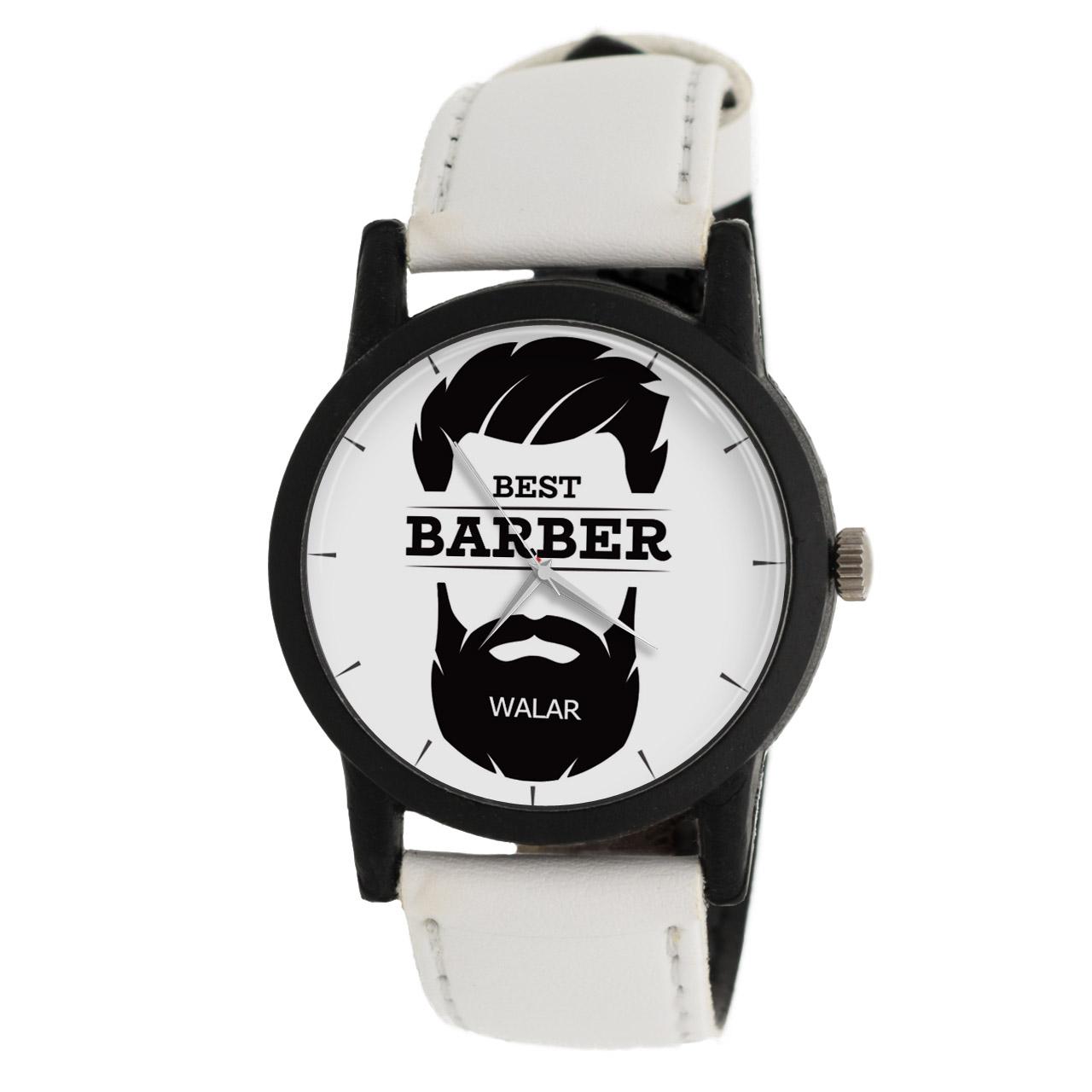 کد تخفیف                                      ساعت مچی عقربه ای مردانه والار طرح آرایشگر مدل LF1379