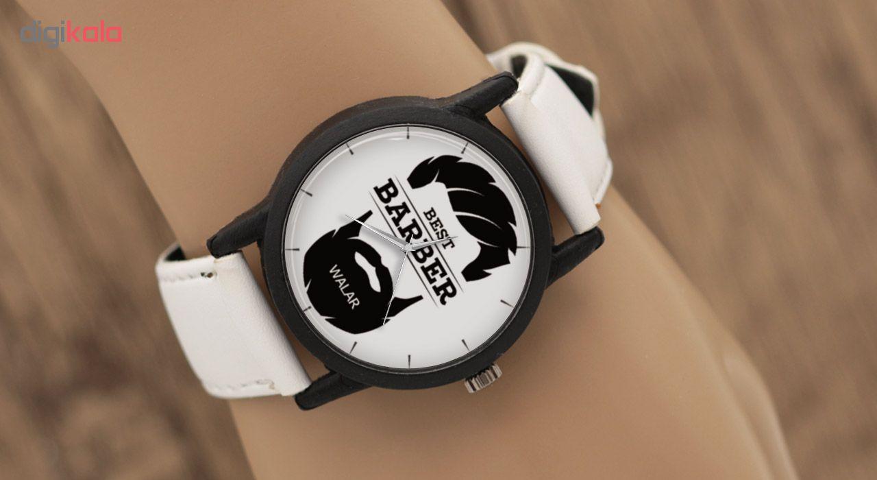 ساعت مچی عقربه ای مردانه والار طرح آرایشگر مدل LF1379