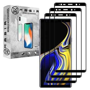 محافظ صفحه نمایش مسیر مدل MGF-3 مناسب برای گوشی موبایل سامسونگ Galaxy Note 9  بسته سه عددی