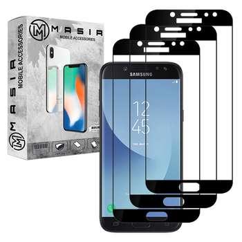 محافظ صفحه نمایش مسیر مدل MGF-3 مناسب برای گوشی موبایل سامسونگ Galaxy J5 Pro  بسته سه عددی