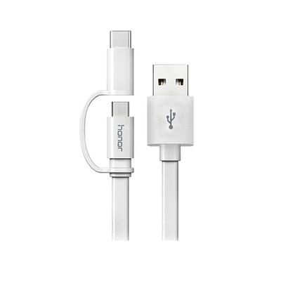 کابل تبدیل USB به microUSB / USB-C  آنر مدل AP 55S طول 1.5 متر